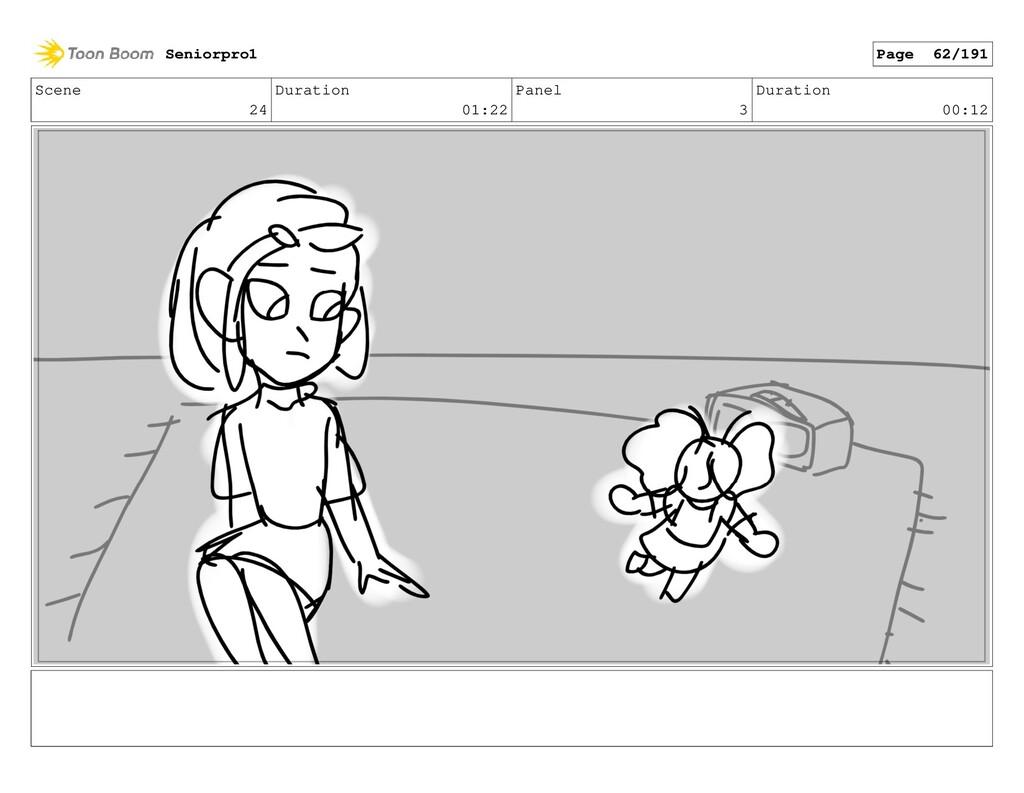 Scene 24 Duration 01:22 Panel 3 Duration 00:12 ...