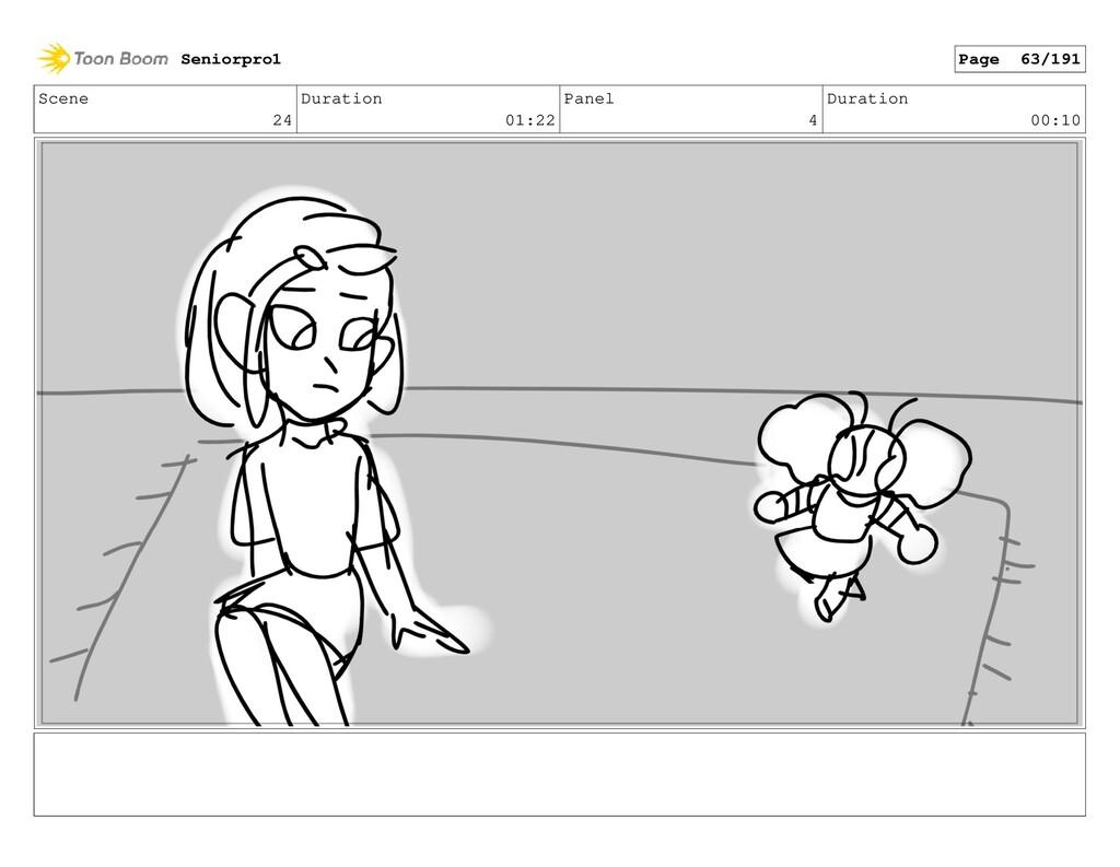 Scene 24 Duration 01:22 Panel 4 Duration 00:10 ...