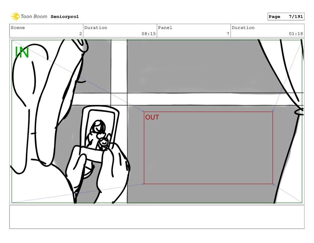 Scene 2 Duration 08:15 Panel 7 Duration 01:18 S...