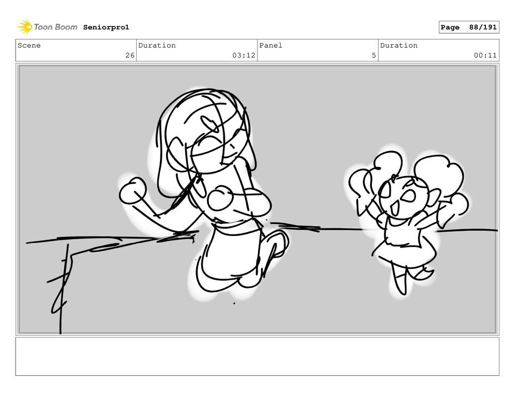 Scene 26 Duration 03:12 Panel 5 Duration 00:11 ...