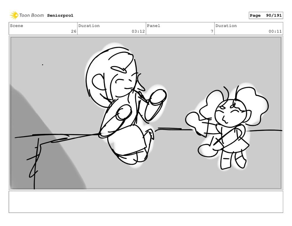 Scene 26 Duration 03:12 Panel 7 Duration 00:11 ...