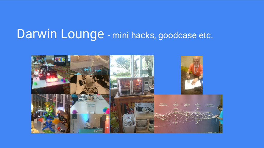 Darwin Lounge - mini hacks, goodcase etc.