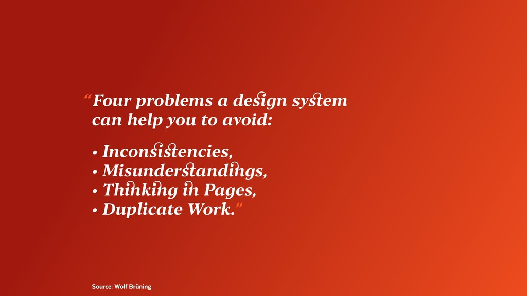 """Source: Wolf Brüning """"Four problems a design s..."""