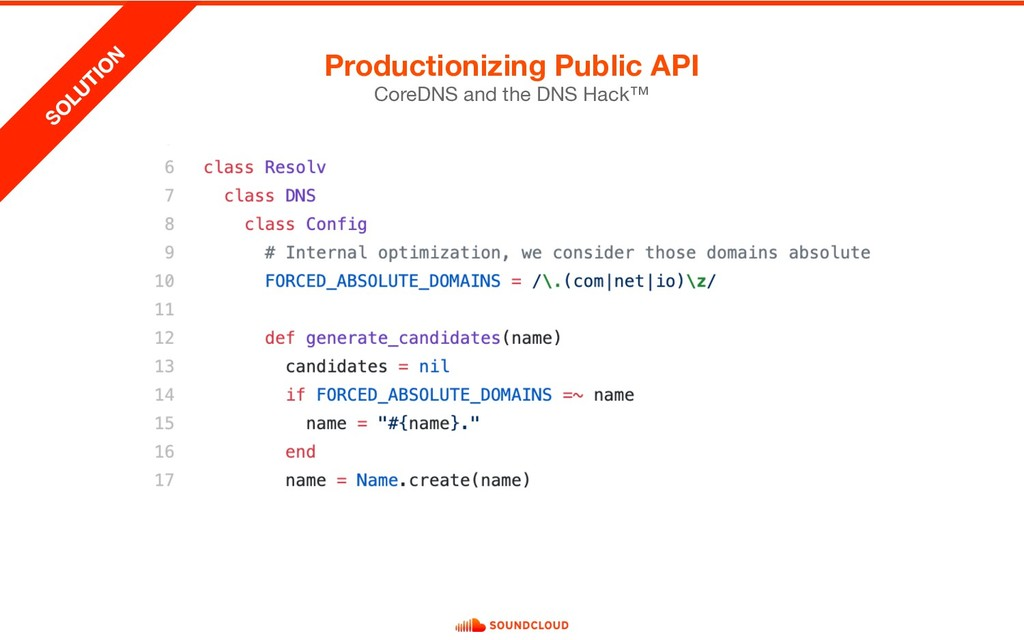 Productionizing Public API CoreDNS and the DNS ...