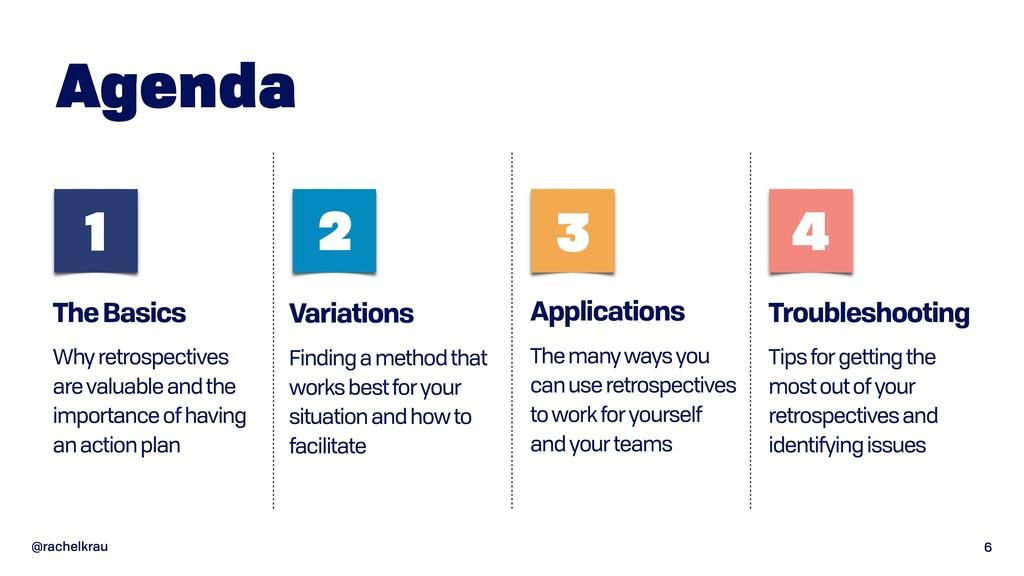 @rachelkrau Applications The many ways you can ...