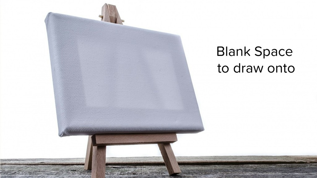Blank Space to draw onto