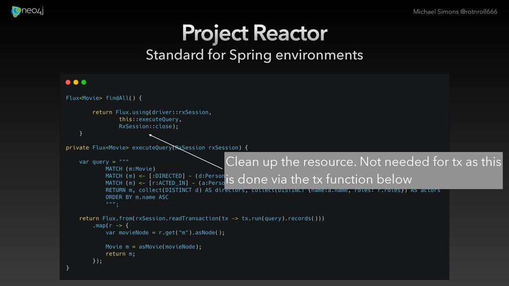 Michael Simons @rotnroll666 Project Reactor Sta...