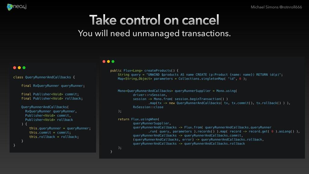 Michael Simons @rotnroll666 Take control on can...