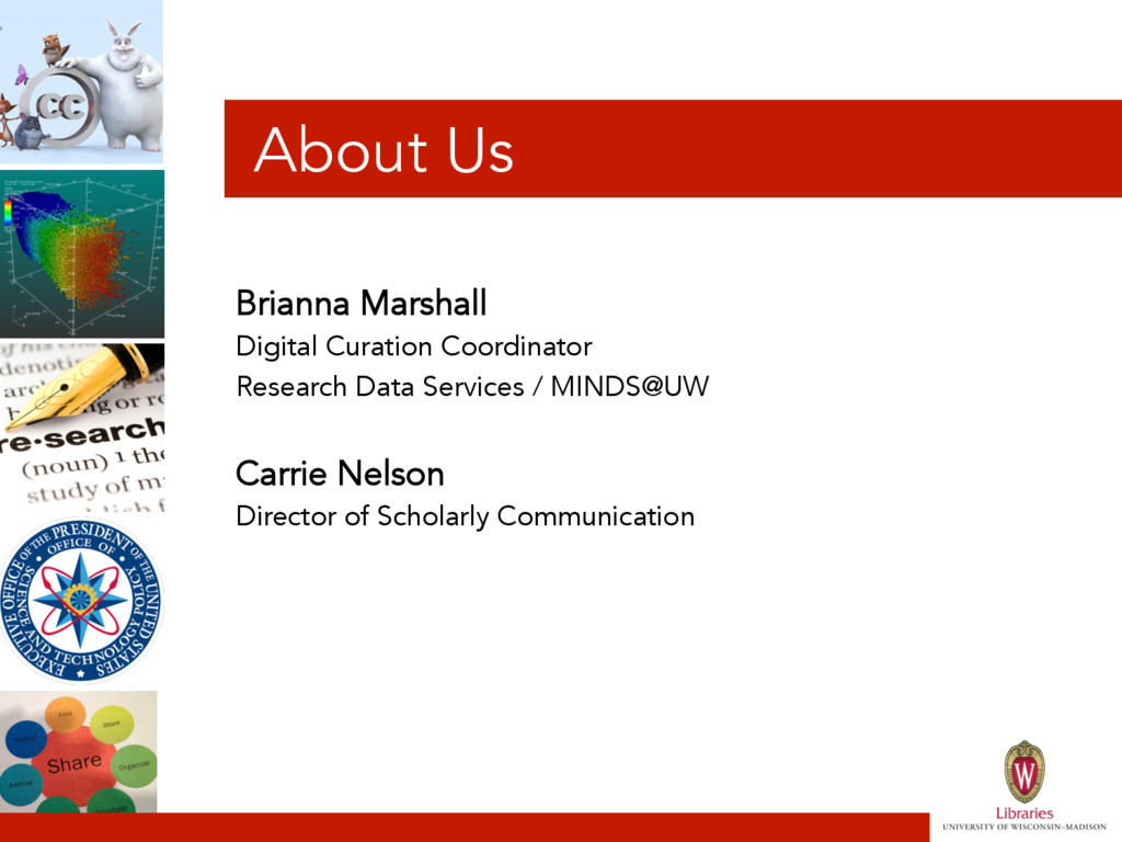 About Us Brianna Marshall Digital Curation Coor...