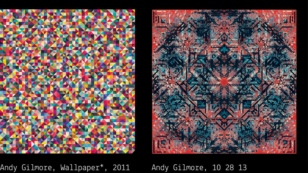 Andy Gilmore, Wallpaper*, 2011 Andy Gilmore, 10...