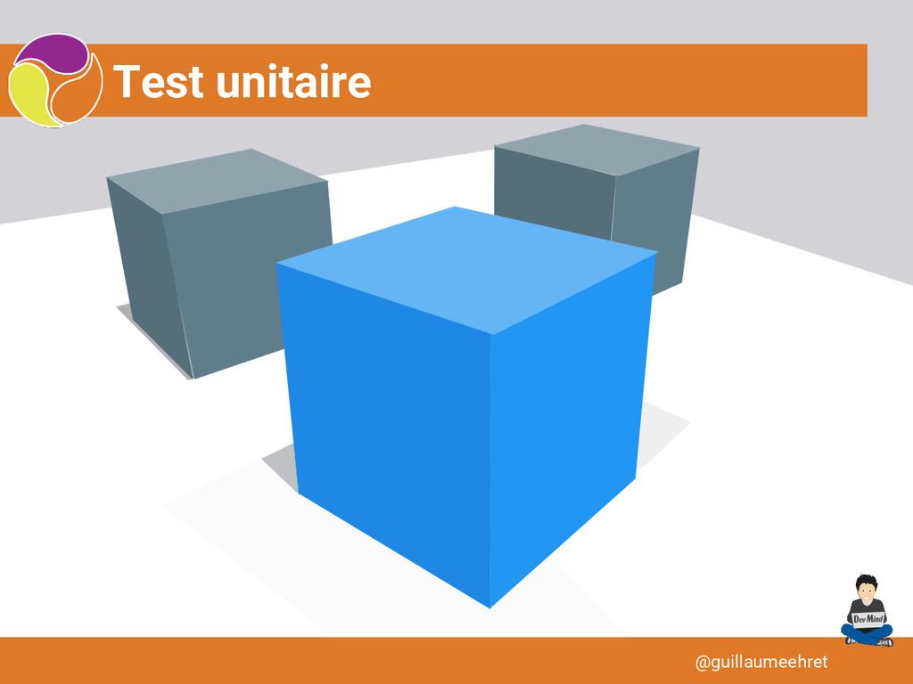 Test unitaire @guillaumeehret