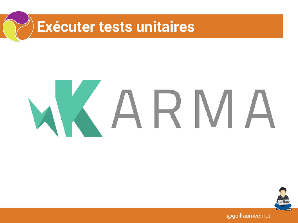 Exécuter tests unitaires @guillaumeehret