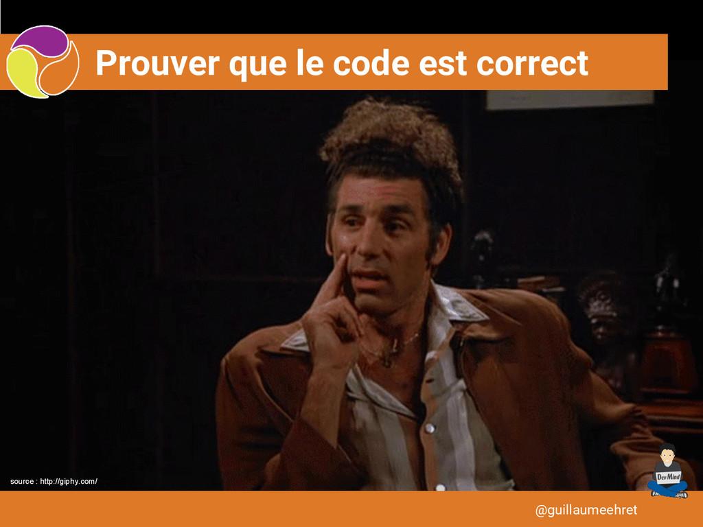 Prouver que le code est correct @guillaumeehret...