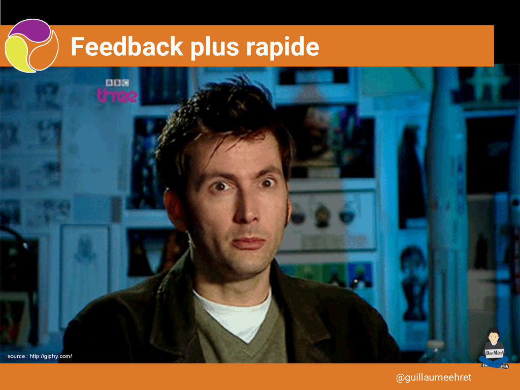 Feedback plus rapide @guillaumeehret source : h...
