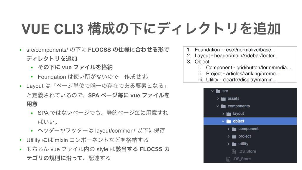 ● src/components/ ͷԼʹ FLOCSS ͷ༷ʹ߹ΘͤΔܗͰ σΟϨΫτϦΛ...
