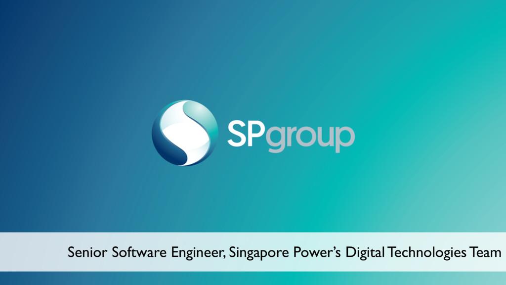 Senior Software Engineer, Singapore Power's Dig...