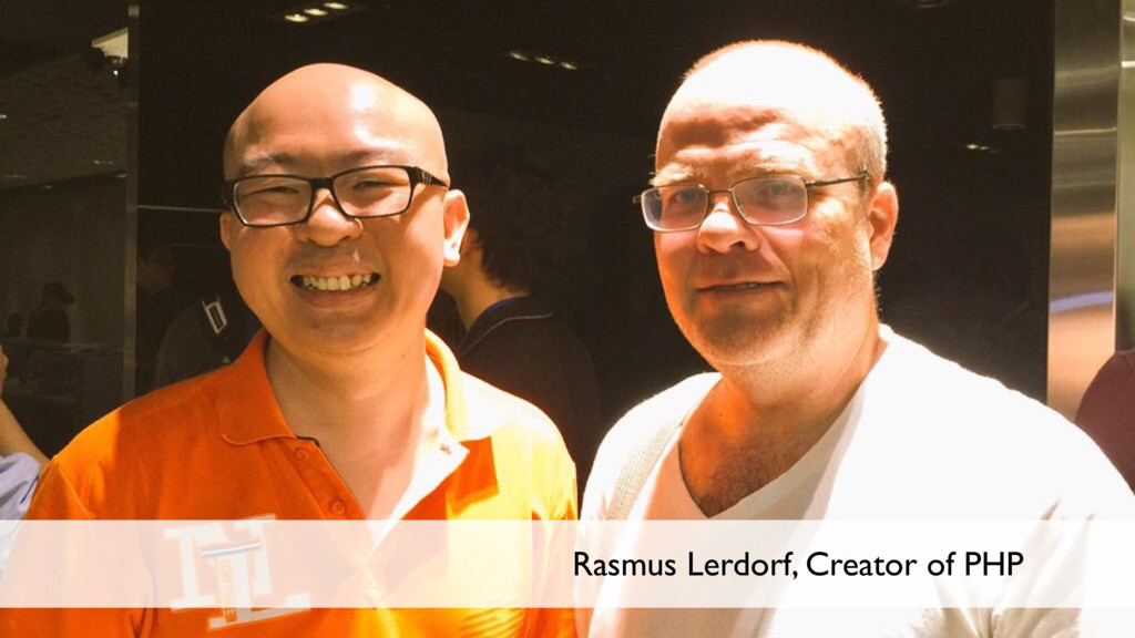 5 Rasmus Lerdorf, Creator of PHP