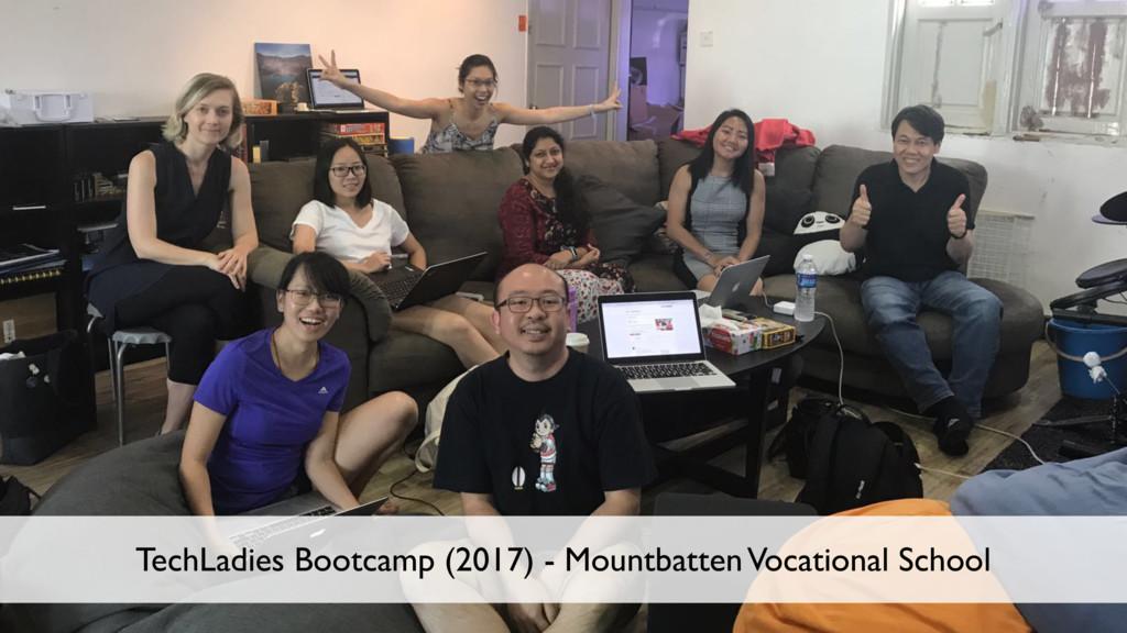 8 TechLadies Bootcamp (2017) - Mountbatten Voca...