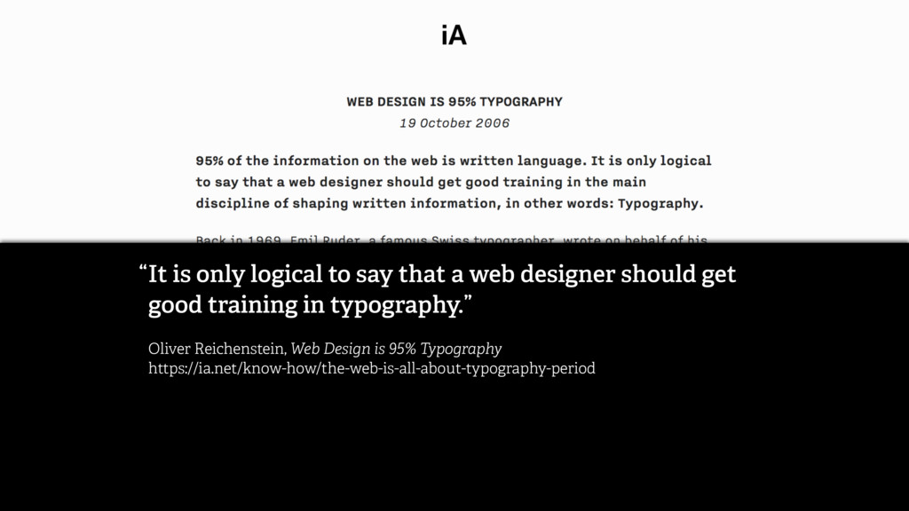 It is only logical to say that a web designer s...