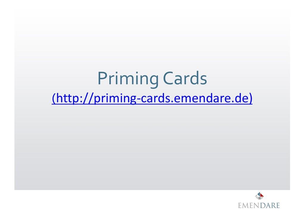 Priming Cards (http://priming-cards.emendare.de)
