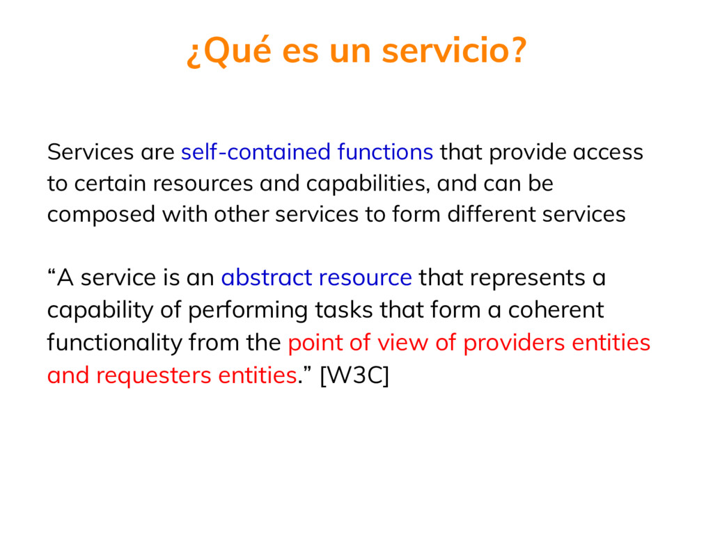 Services are self-contained functions that prov...
