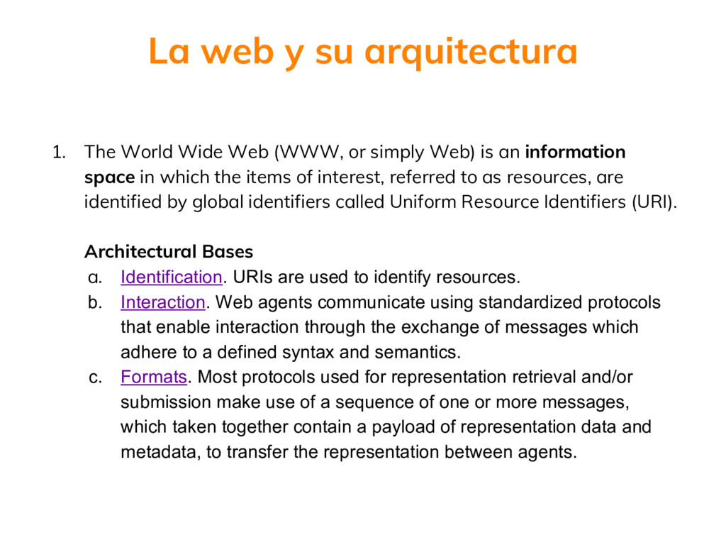 1. The World Wide Web (WWW, or simply Web) is a...