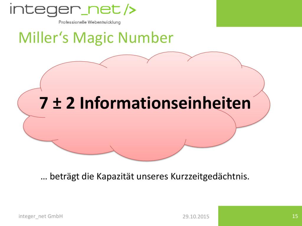29.10.2015 Miller's Magic Number integer_net Gm...