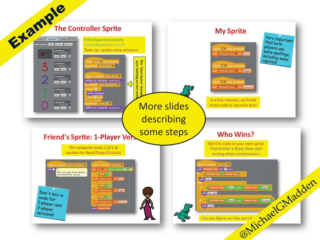 More slides describing some steps