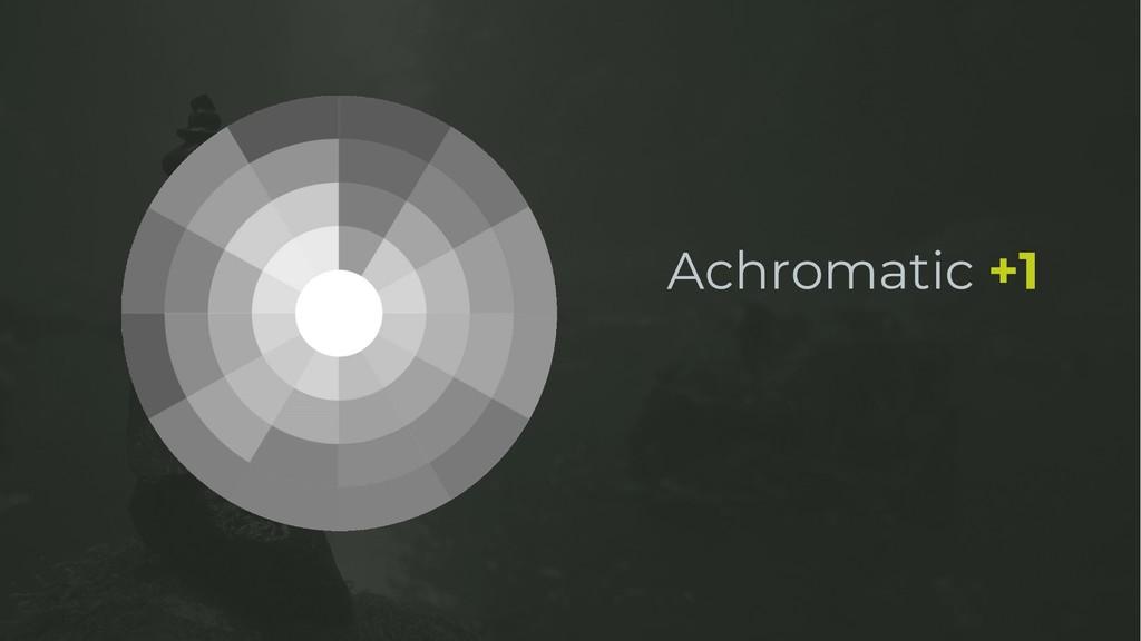 Achromatic +1