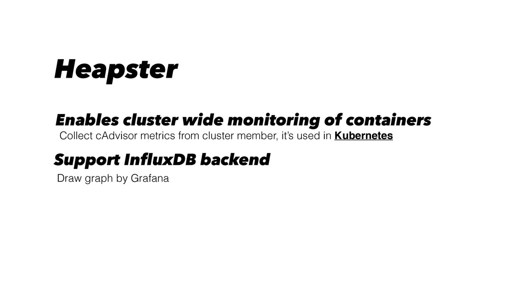 Collect cAdvisor metrics from cluster member, i...