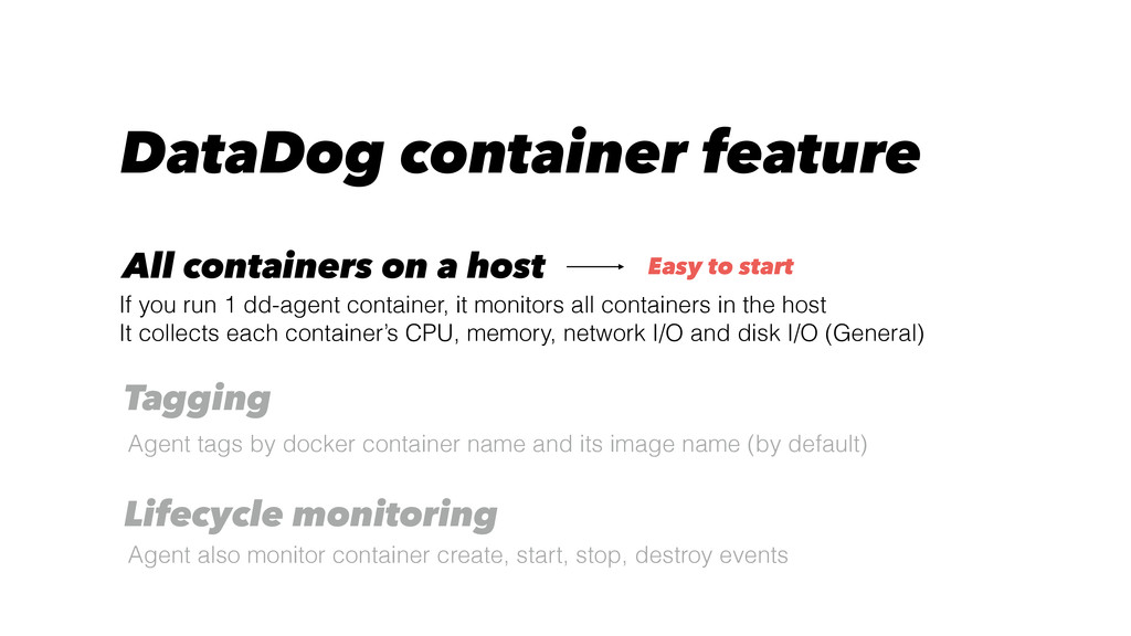 DataDog container feature Agent tags by docker ...
