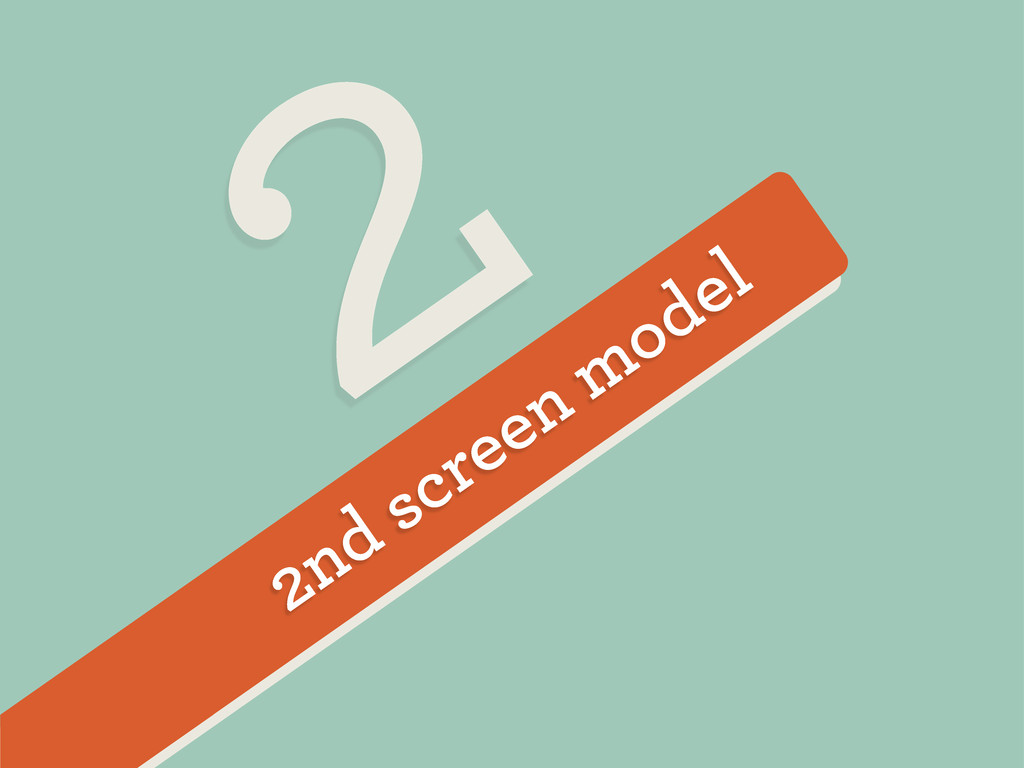 2nd screen model 2