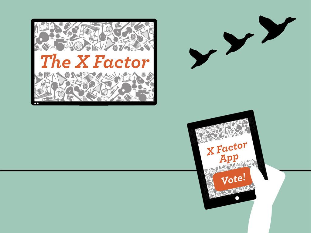 The X Factor X Factor App Vote!