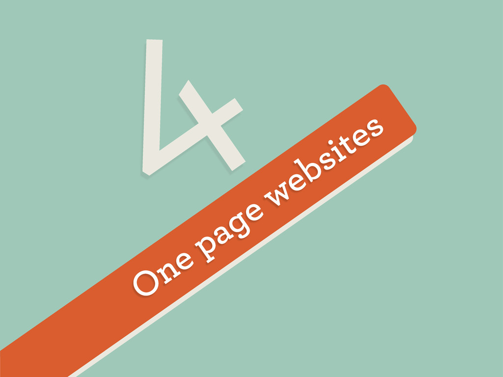One page websites 4