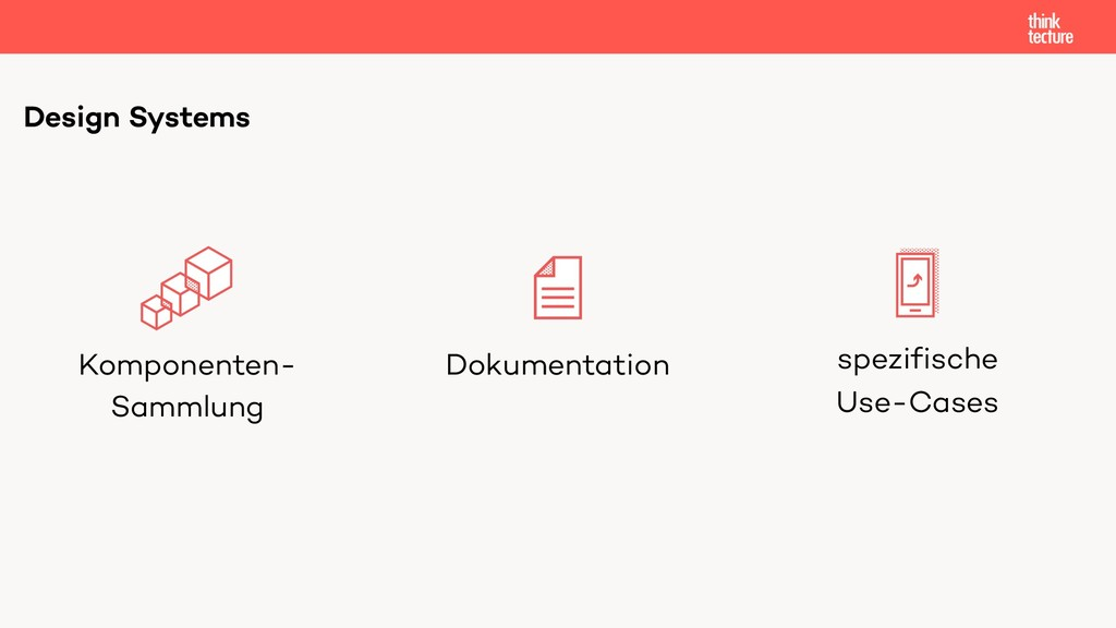 Design Systems Komponenten- Sammlung Dokumentat...