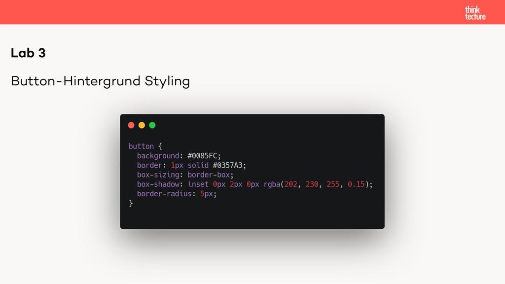 Button-Hintergrund Styling Lab 3