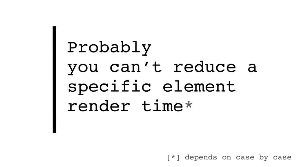 Probably  you can't reduce a specific element ...