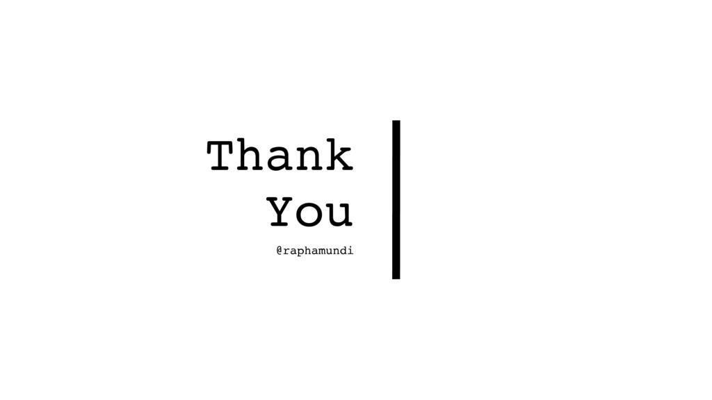 Thank You @raphamundi