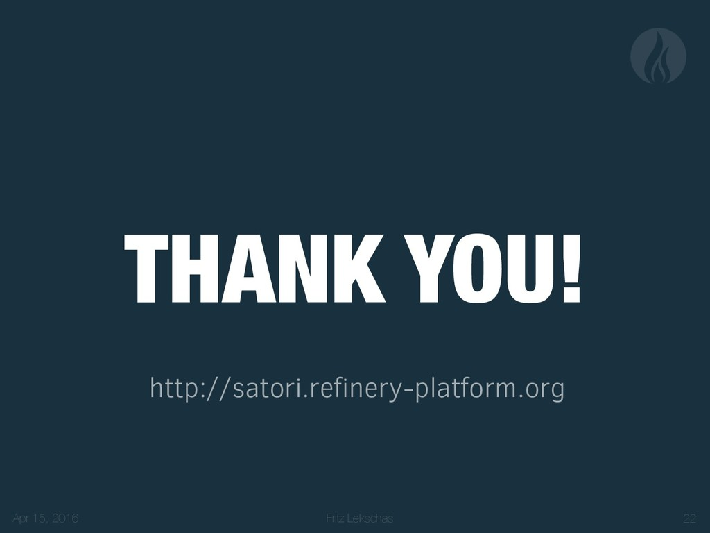 Fritz Lekschas THANK YOU! http://satori.refiner...