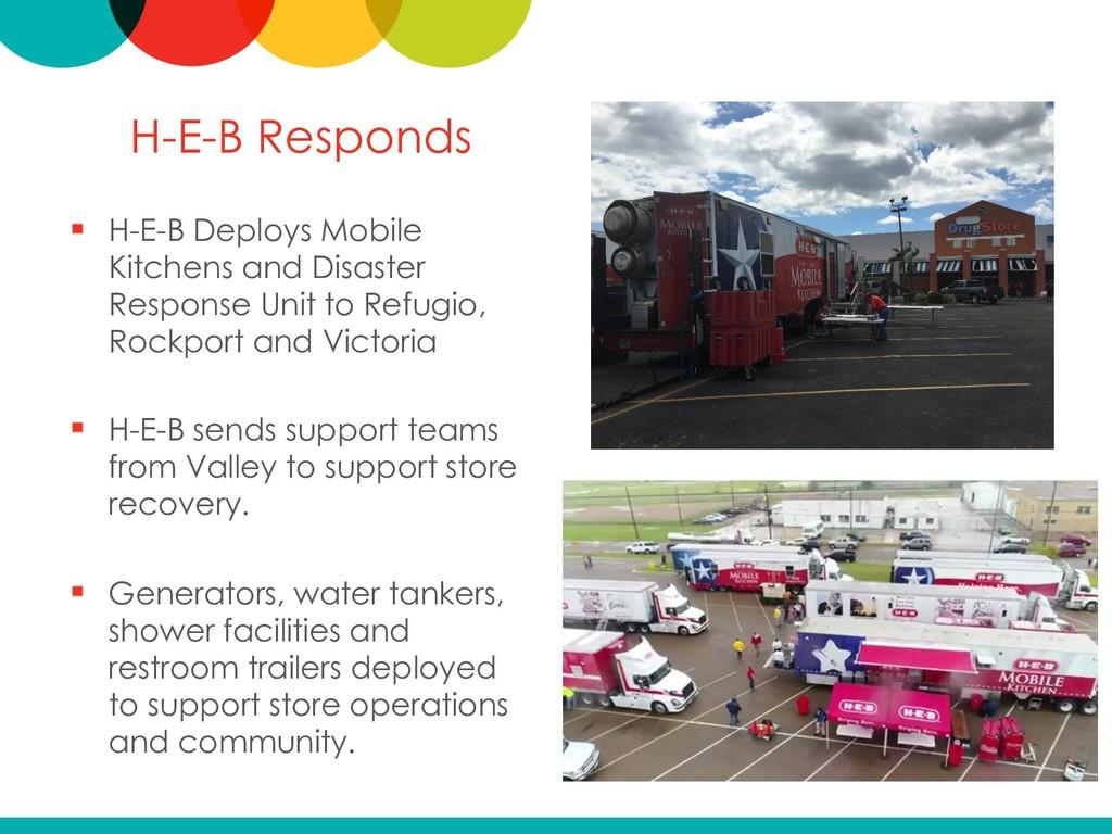 H-E-B Responds H-E-B Deploys Mobile Kitchens an...