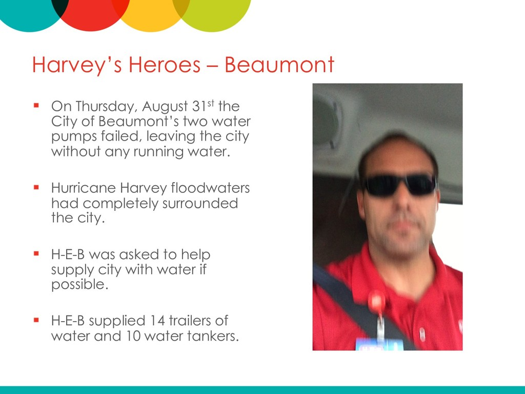 Harvey's Heroes – Beaumont On Thursday, August ...