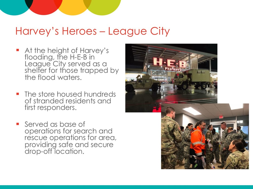 Harvey's Heroes – League City At the height of ...