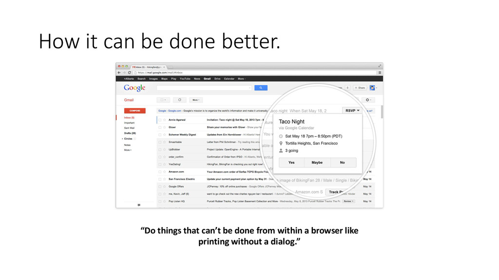 """How it can be done better. """"Do things that can'..."""