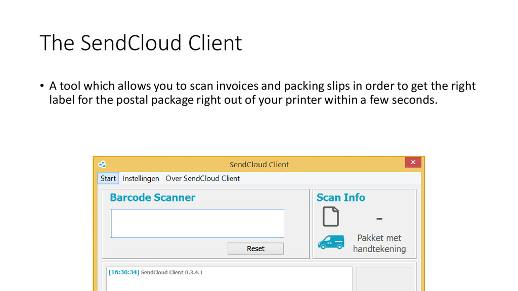The SendCloud Client • A tool which allows you ...