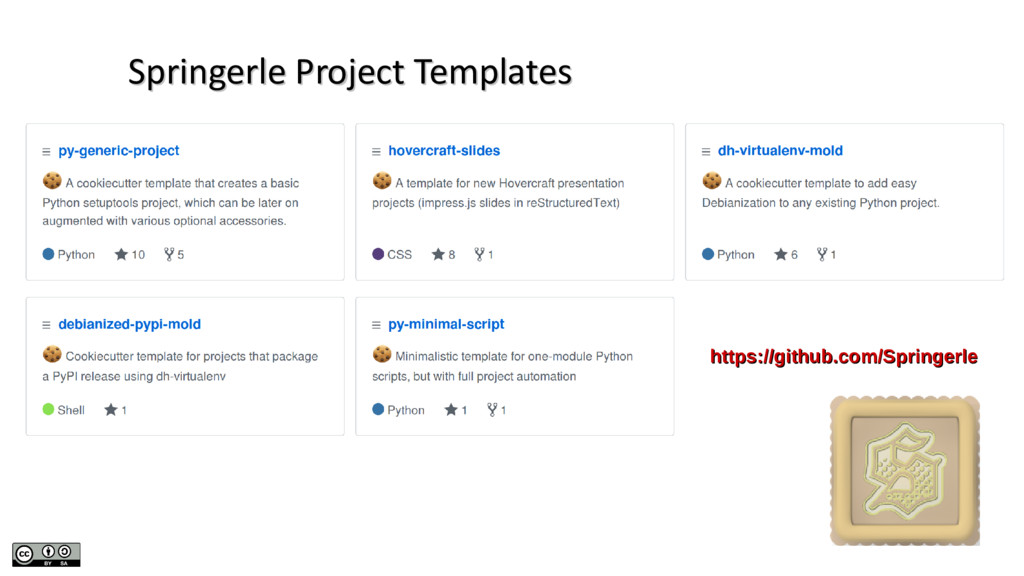 Springerle Project Templates Springerle Project...