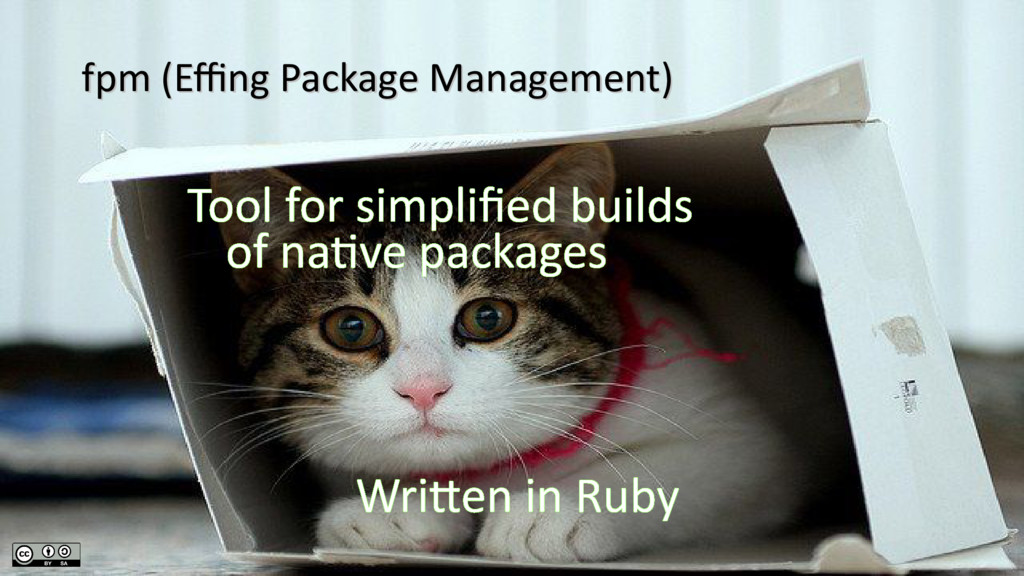 Tool for simplified builds of native packages W...