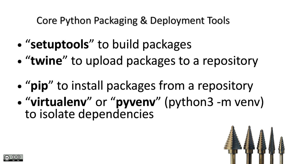 Core Python Packaging & Deployment Tools Core P...