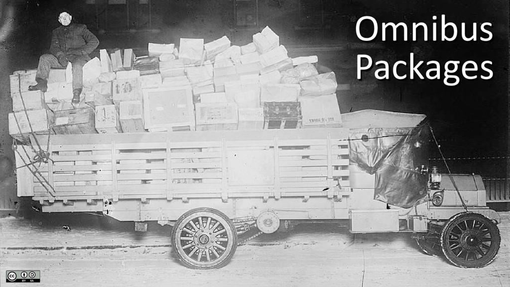 Omnibus Omnibus Packages Packages