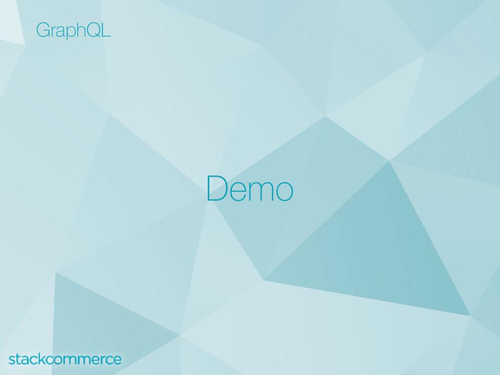 GraphQL Demo