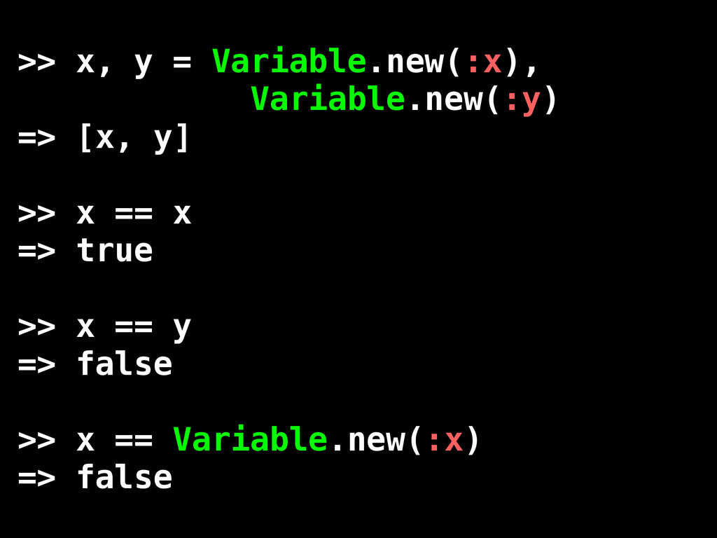 >> x, y = Variable.new(:x), Variable.new(:y) =>...
